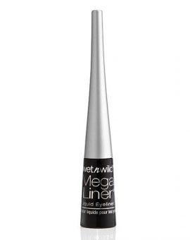 Wet N Wild Mega Liner - Liquid Eyeliner Black