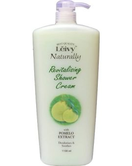 Leivy Naturally Revitalising Shower Cream With Pomelo Extract