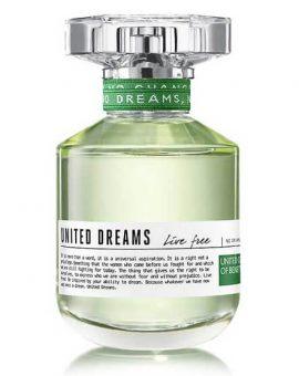 Benetton United Dreams Live Free Woman - 80 ML