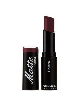 Absolute New York Matte Stick Lipstick - NFA63 Dark Plum