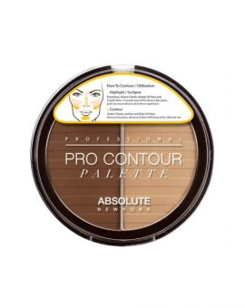 Absolute New York Pro Contour Palette - APC03 Dark