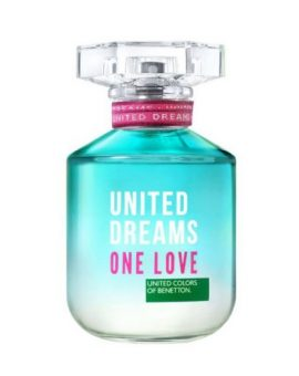 Benetton United Dreams One Love for Her - 80 ML