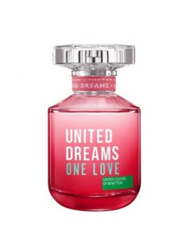 Benetton United Dreams One Love for Her Limited - 80 ML